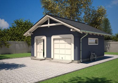 Projekt Garażu K19 - NA ZGŁOSZENIE