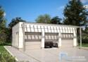 Projekt Garażu Trzystanowiskowego N4