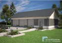 Projekt Budynku Garażowo - Gospodarczego GR3