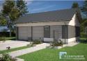 Projekt Budynku Garażowo - Gospodarczego GR2