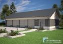Projekt Budynku Garażowo - Gospodarczego GR4