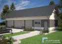 Projekt Budynku Garażowo - Gospodarczego GR5