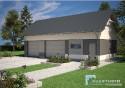 Projekt Budynku Garażowo - Gospodarczego GR6