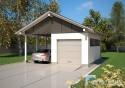 Projekt Garażu K11 - TANI W BUDOWIE
