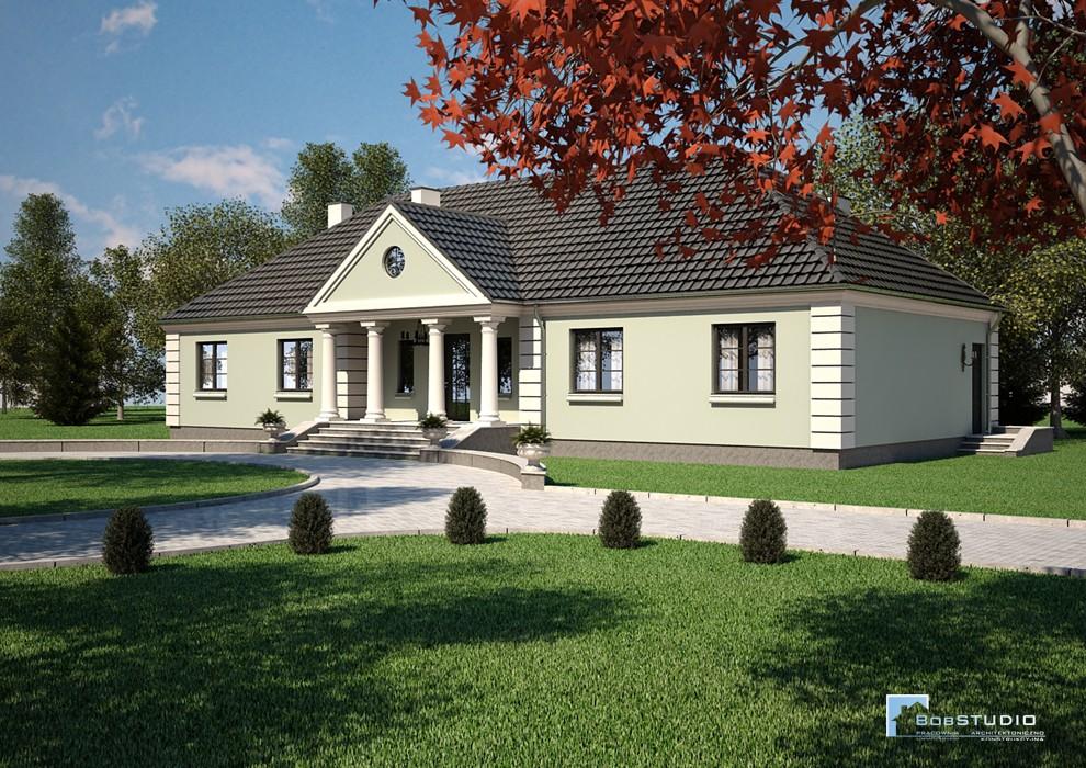 Projekt Domu - NOWY DWÓR B665 *Energooszczędny