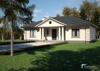 Projekt Domu -DWOREK POLSKI B669 *Energooszczędny