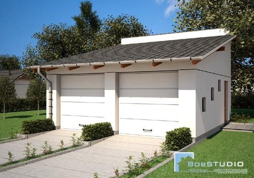 Projekty Garazy Budynkow Gospodarczych Wiat